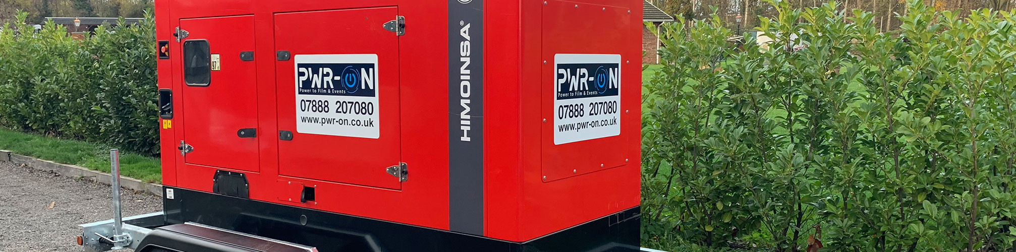 Generator hire in London & the Home Counties